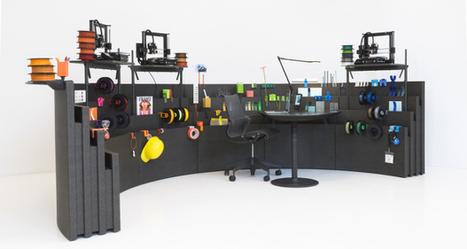 Un bureau modulable grâce à l'impression 3D - 3Dnatives | FabLab - DIY - 3D printing- Maker | Scoop.it
