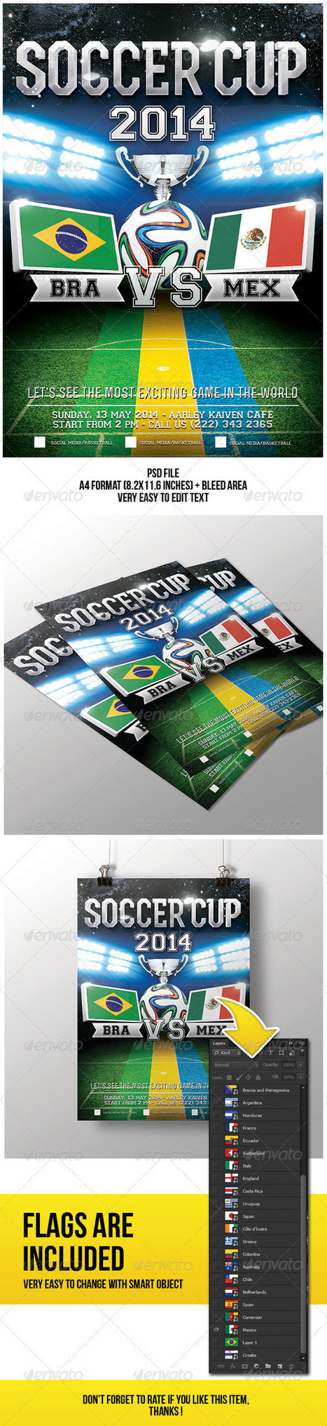 Soccer Cup Flyer (Sports)   Sport at a glance   Scoop.it