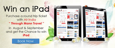 Win an iPad Contest- Mann Travel   Fly from Australia   Scoop.it
