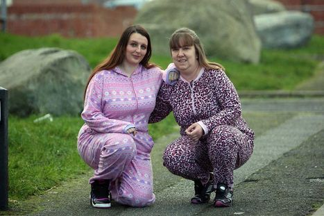 Llandudno woman with double quick heart beat takes on a onesie walk - Daily Post North Wales | trust mentions | Scoop.it
