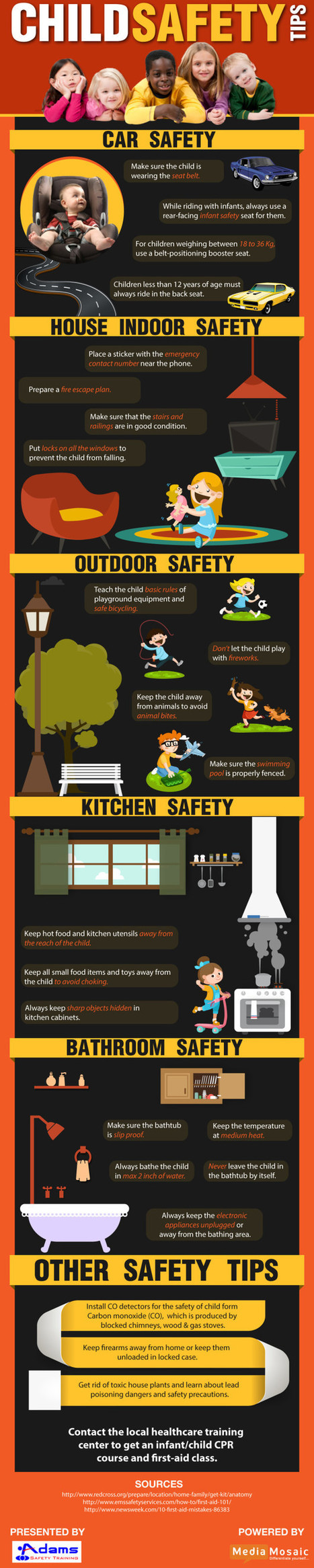 Tips for Keeping Children Safe at Home and Outdoor | Infographic | Scoop.it