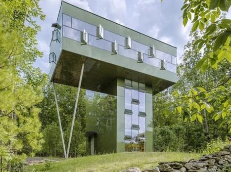 Tower House / GLUCK+ (Peter Gluck and Partners)   Designalmic   Designalmic   Scoop.it