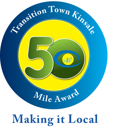 50 Mile LOGO now in shops and restaurants - Transition Ireland and Northern Ireland   Promoting Community Sustainability   Scoop.it