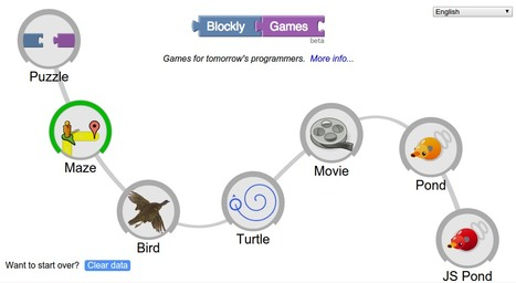 Blockly Games | Mobile learning and app design for educators | Scoop.it
