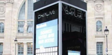 Oxialive révolutionne l'affichage digital urbain avec sa nouvelle ... - La Tribune.fr | UseNum - Culture | Scoop.it