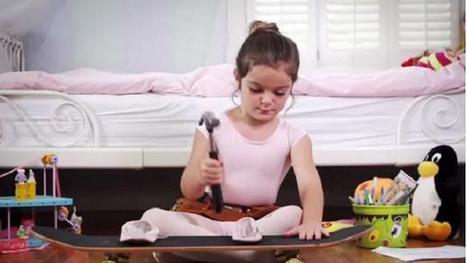 Bambine contro gli stereotipi: lo spot Usa - Repubblica Tv - la Repubblica.it | comunicazione | Scoop.it