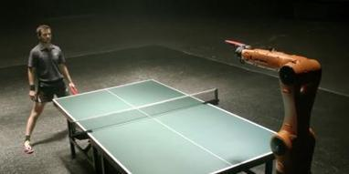 Man vs. Machine: Ping Pong Champ Wins One For Humanity | Bionics | Scoop.it