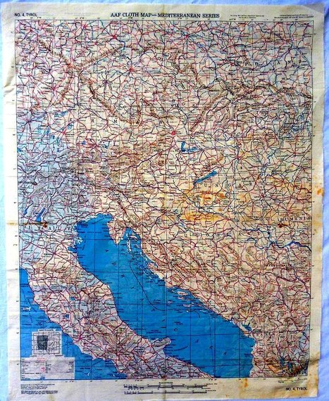 Handkerchief Maps | Merveilles - Marvels | Scoop.it