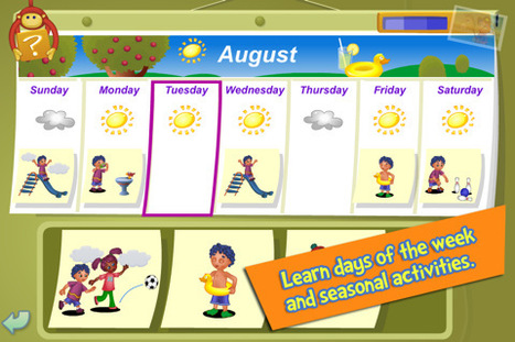 i Learn With Poko: Seasons and Weather! - Science educational games for kids in preschool and kindergarten for iPhone, iPod touch, and iPad on the iTunes App Store   science games for kindergarten   Scoop.it