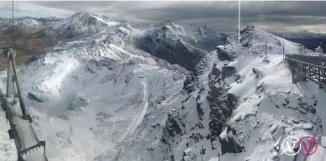 La neige est arrivée à 3230 mètres d'altitude   Montagne, tourisme : actualités et innovations   Scoop.it