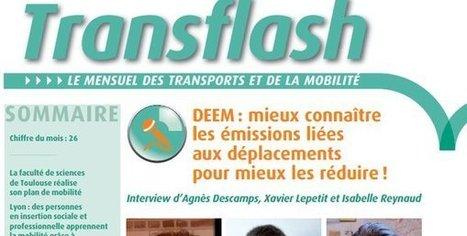 DEEM : mieux connaitre les émissions liées aux déplacements pour mieux les réduire | Transition et Territoires | Scoop.it