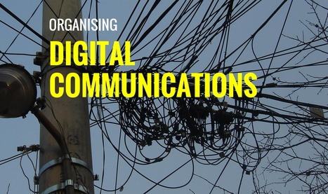 Organising Digital Communications in Higher Education (slides) | On education | Scoop.it