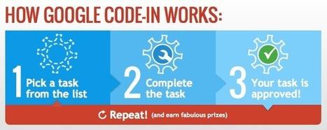 Google lance un concours, le Google Code-In, pour les ados le 26 ...   Evènement   Scoop.it