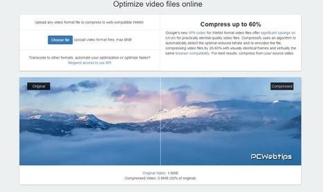 5 Herramientas online para reducir el tamaño de vídeos, MP3, archivos PDF, e imágenes | Las TIC en el aula de ELE | Scoop.it