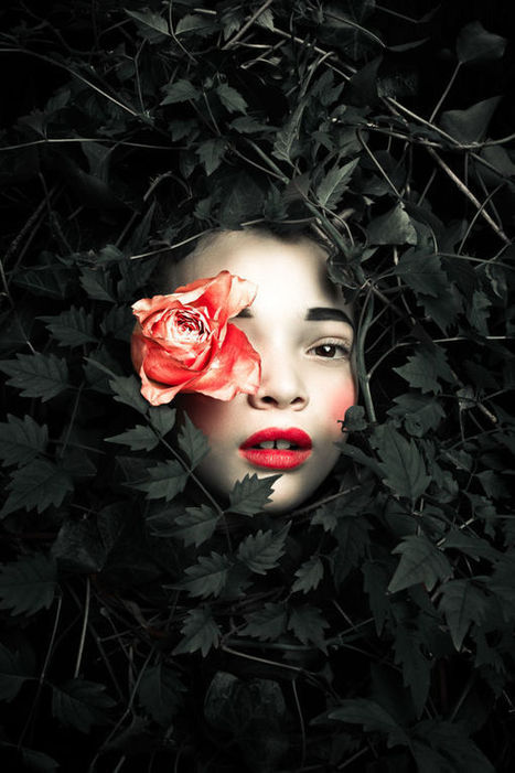 Myth-Inspired Child Portraits - Persephone by Max Eremine Takes on the Changing of Seasons (TrendHunter.com) | Digital-News on Scoop.it today | Scoop.it