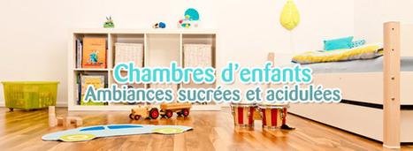Chambre d'enfant : ambiances sucrées et acidulées | Immobilier | Scoop.it