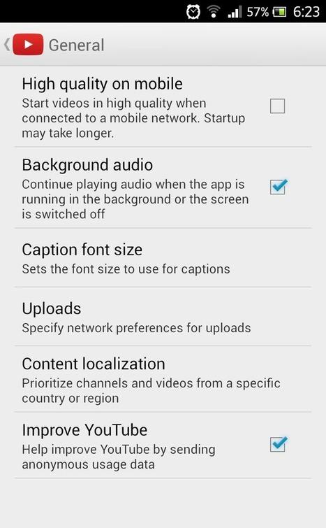YouTube ще свири на заден план | android4e.com | Tенденциите в нетуъркинга и социалните мрежи | Scoop.it