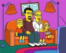 Custom Simpsons-style family portrait | Geek Style Guide | Scoop.it