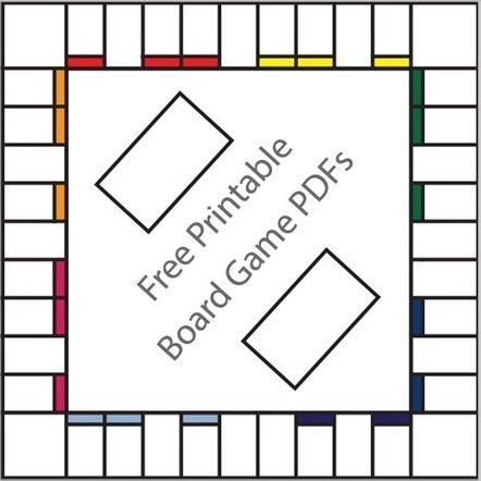 16 Free Printable Board Game Templates - Tech How To Today | Collections (Tools, photos, sounds, music) | Scoop.it