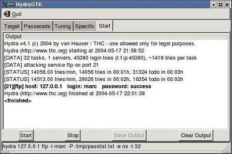 THC-HYDRA - fast and flexible network login hacker | Hacking Wisdom | Scoop.it