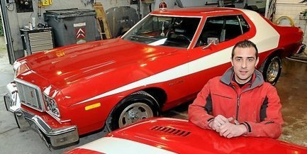 Alès : la voiture de Starsky et Hutch réparée par un carrossier local | Actualités carrosserie et automobile | Scoop.it
