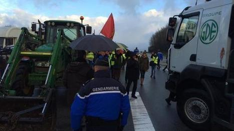 Nonant-le-Pin. Trois camions accueillis par les opposants | Actualités écologie | Scoop.it