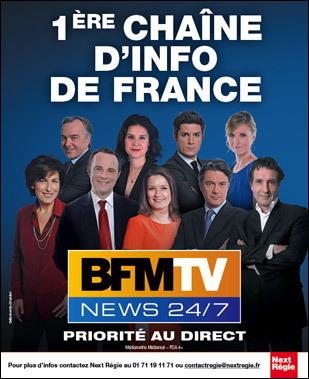 La campagne pare-feu de BFM TV | DocPresseESJ | Scoop.it