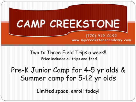 Camp Creekstone | | Childcare Daycare Kennesaw Blog | Good future with child care | Scoop.it