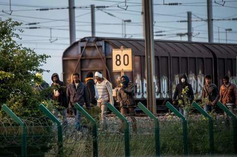 Witness the Desperate Migrants in France Hoping to Reach the U.K. | SandyPims | Scoop.it