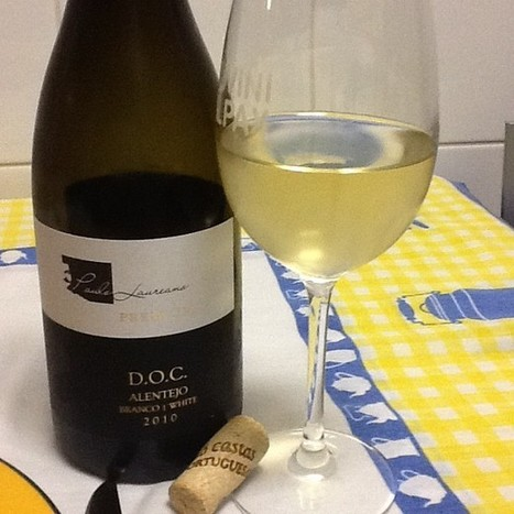 Paulo Laureano Premium Branco 2010 #vinhodanoite | #vinhodanoite | Scoop.it