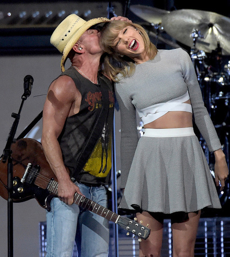 Taylor Swift Surprises Fans at Kenny Chesney's Nashville Concert | Country Music Today | Scoop.it
