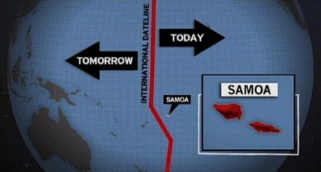 This week, Samoa will skip Friday | AP HUMAN GEOGRAPHY DIGITAL  STUDY: MIKE BUSARELLO | Scoop.it