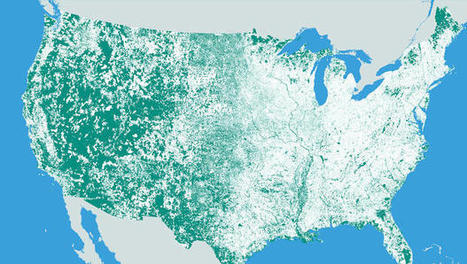 Mapping All The Places In The U.S. With A Population Of Zero | Cartography and Digital Mapping | Scoop.it