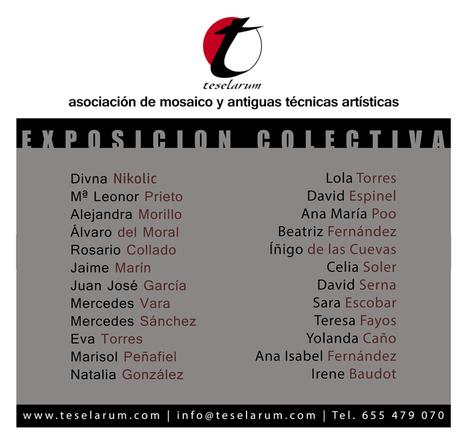 Primera Exposición de Teselarum en Tres Cantos. | opus vermiculatum | Scoop.it