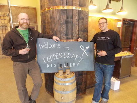 Coppercraft Distillery plans to expand into microbrews, winemaking | Visioning for Business | Scoop.it