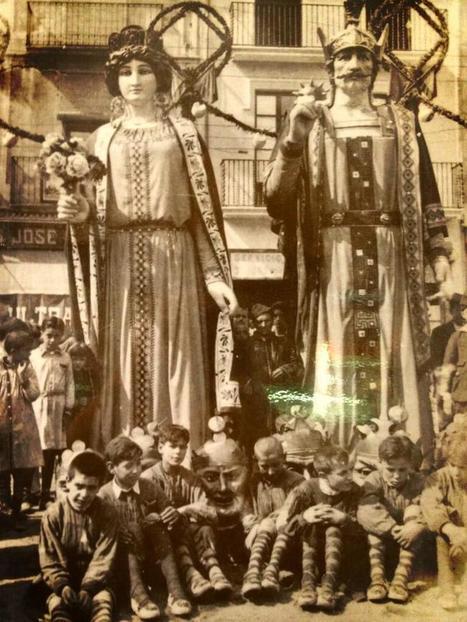 Twitter / ernestbassols: Foto preciosa dels gegants ... | Gegants, tradicions i escola | Scoop.it