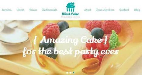 Bakery WordPress Theme For Bakeries & Cake Shops | WordPress Themes | Scoop.it
