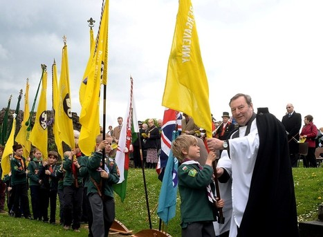 Monmouthshire scouts march to celebrate patron saint   Scouting around the world   Scoop.it