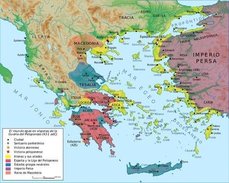 ATALANTA: La Guerra del Peloponeso | Griego clásico | Scoop.it