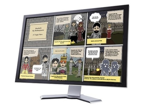 Storyboard That - Free Trial for Teachers | E-Learning and Online Teaching | Scoop.it