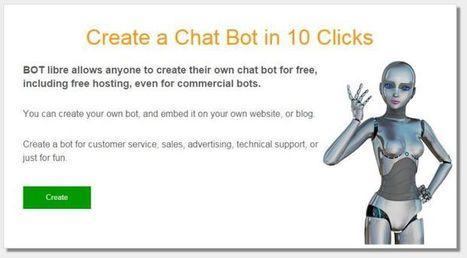 Bot Libre, plataforma de código abierto para la creación de bots | Saber mas en tecnología, compartir es la via | Scoop.it