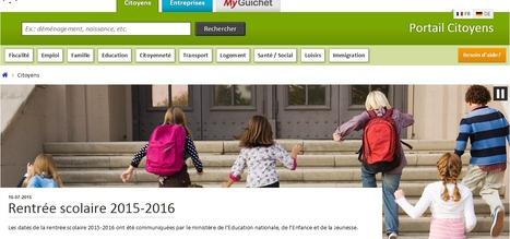 Rentrée scolaire 2015-2016 | Luxembourg | EDUcation | Luxembourg (Europe) | Scoop.it