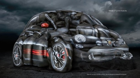 This Fiat 500 Was Created With 13 Models And Body Paint | Real Estate Plus+ Daily News | Scoop.it