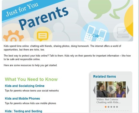 Featured: Info for Parents | OnGuard Online | Social Media and its influence | Scoop.it