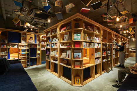 Cet hôtel vous propose des chambres dans une bibliothèque | Sur les livres, l'édition, les mots: Infos, technologie, nouveautés... | Scoop.it