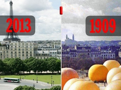 Paris 1900-2013en photos: 10nouveaux voyages dans notre fabuleuse machine à remonter le temps - Rue89 | Rhit Genealogie | Scoop.it