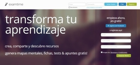 ExamTime, plataforma de recursos educativos, presenta nuevas características | educacion-y-ntic | Scoop.it