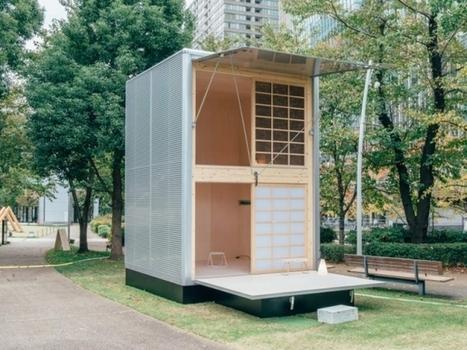 Une mini cabane mobile signée Muji | L'Etablisienne, un atelier pour créer, fabriquer, rénover, personnaliser... | Scoop.it