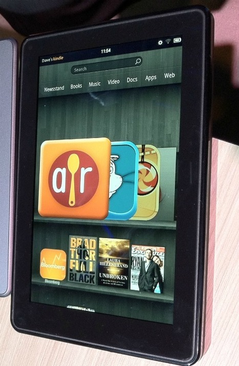 Amazon Kindle Fire: First Impressions [VIDEO] | An Eye on New Media | Scoop.it