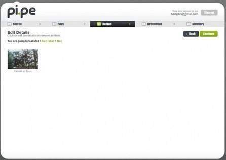 Transférer des photos entre différents services en ligne, Pi.pe | Ballajack | François MAGNAN  Formateur Consultant | Scoop.it